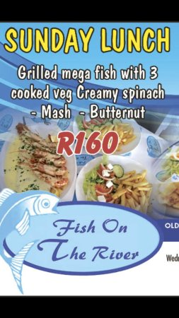 Port Shepstone, South Africa: Sunday luch special