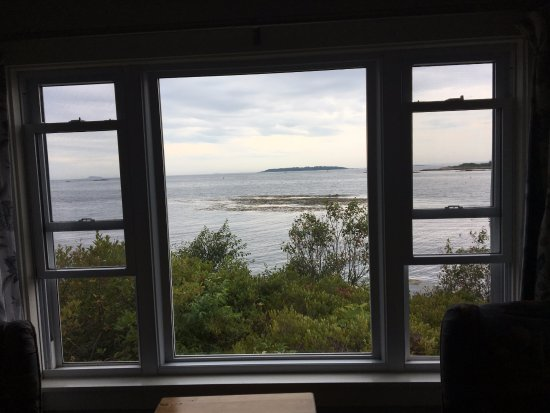 Sebasco Estates, ME: View from Lighthouse room