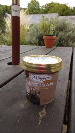 Newchurch, UK : Garlic Ice cream!