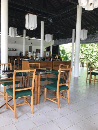 Champasak Town, Laos: Petit dejeuner et cuisines excellentes