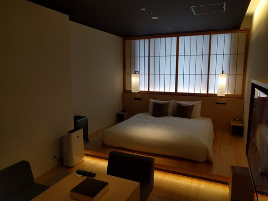 Hotel Kanra Kyoto : Leave your shoes outside.