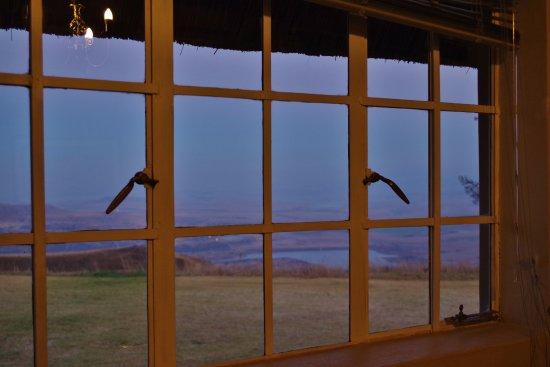 Bergville, Afrika Selatan: Vista desde la ventana