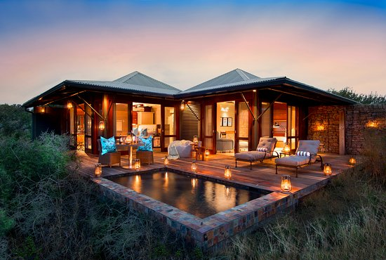Kwandwe Private Game Reserve, South Africa: Kwandwe Ecca Lodge - suite external view