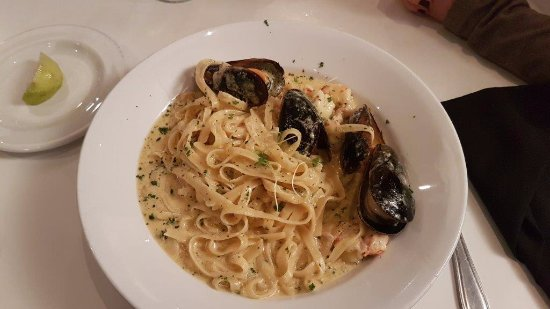 Hillcrest, África do Sul: seafood pasta