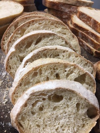 Belvedere House: Sour Dough Bread Made onsite & available most mornings
