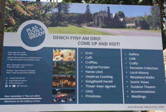 Llanbedrog, UK: Website and opening details