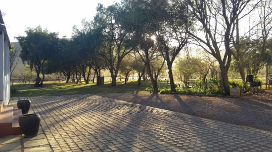 Thandile Country Lodge: Beautiful views from the lodge verandas