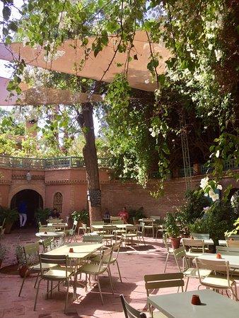 Cafe jardin majorelle marrakech restaurant avis num ro for Cafe le jardin marrakech