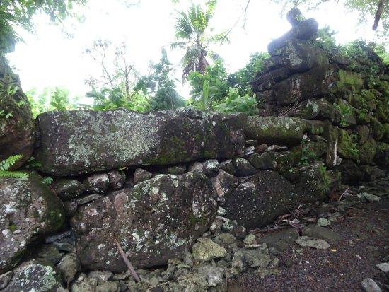 Kosrae, Mikronezya Federal Devletleri: Lelu archaeolgical site