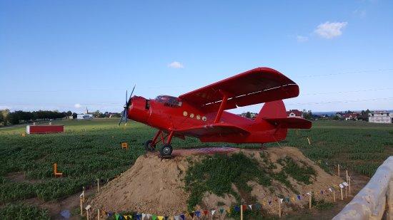 Swarzewo, Pologne : Labirynt - samolot