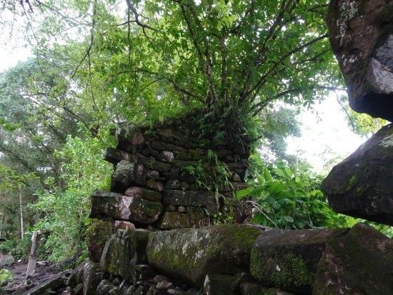 Kosrae, Federated States of Micronesia: Lelu archaeolgical site