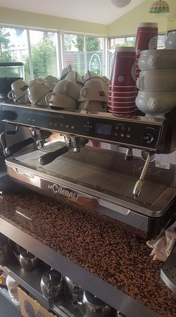 Our Traditional Coffee Machine