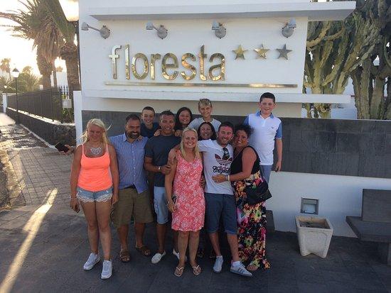 Hotel Floresta: The gang at the Floresta 2017