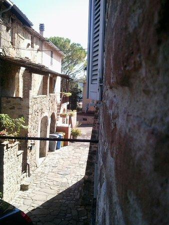 Coltavolino, Italia: Dalla finestra della camera
