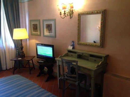 Calcinaia, إيطاليا: tv rotta che non si spegneva