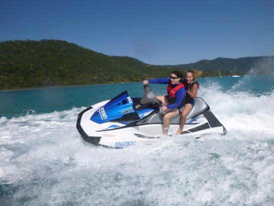 Airlie Beach, Australien: Adrenalin packed jet ski adventure