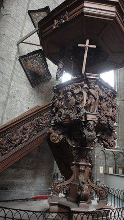 Saint Nicholas Church: Otro detalle del púlpito