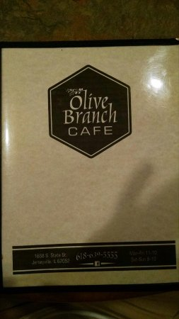 Jerseyville, IL: Olive Branch Cafe