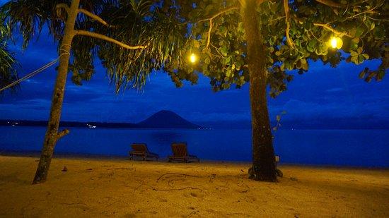 Siladen Island, Indonesia: View of Manado Tua