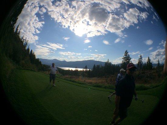 Predator Ridge Golf Resort : The Ridge Course, Overlooking Okanagan Lake
