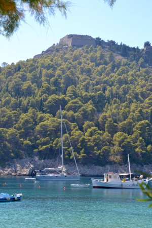 Assos, Greece: Castle on the hill