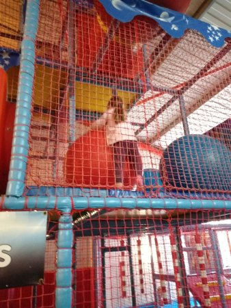 King's Lynn, UK: One of the upper levels at Planet Zoom
