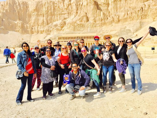 On The Go Tours at Queen Hatshepsut Temple in Luxor, Egypt