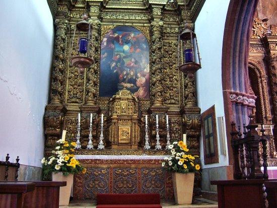 Ribeira Brava, Portugal: Innenaufnahme in der Igreja de Sao Bento