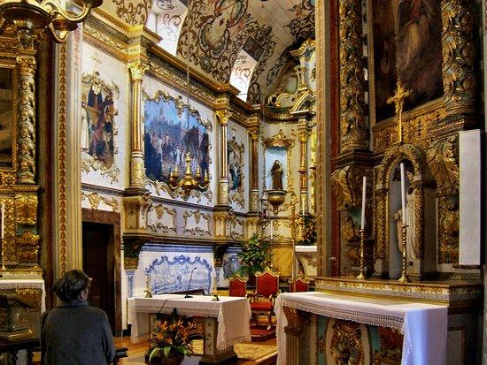 Ribeira Brava, البرتغال: Innenaufnahme in der Igreja de Sao Bento