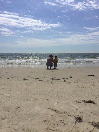Hampton, VA: A beautiful moment captured between a mother and son.
