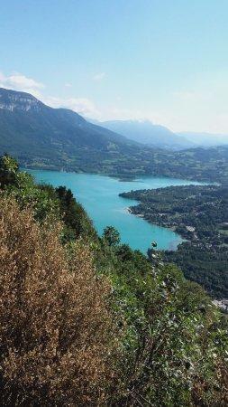 Attignat-Oncin, Frankreich: lac d'Aiguebelette à quelques kilomètres
