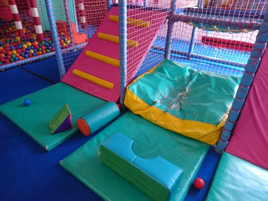King's Lynn, UK: Toddler's area at Planet Zoom
