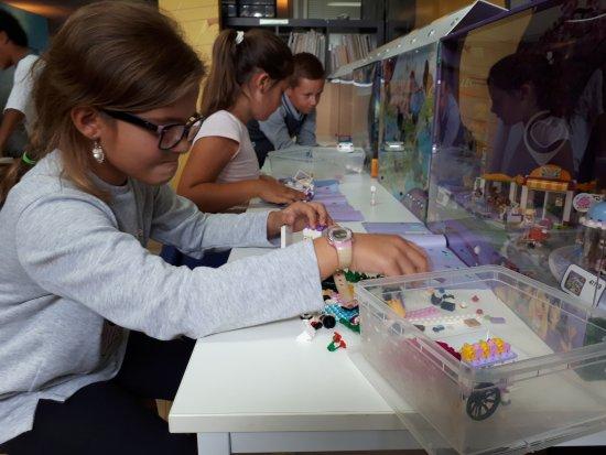 L'Union, France: Gros atelier #LEGO en cours @OP'titMondeDeRico