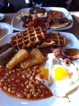 Mildenhall, UK: Waffles were the better addition