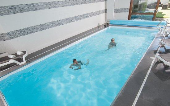 Romilly-sur-Seine, Francia: Détendez vous à la piscine ou au jacuzzi pour profiter de la Champagne