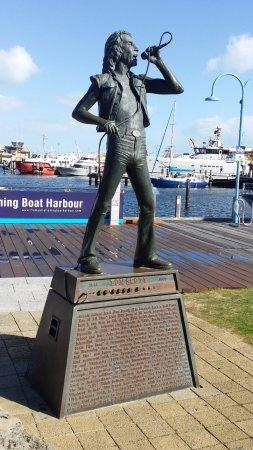 Fremantle, Avustralya: この像だけです。