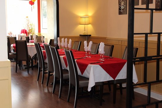 The Saigon Restaurant: Dining room