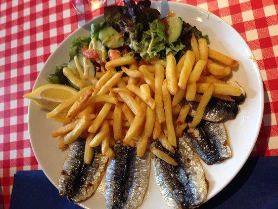 Creperie de la Cale : Sardines & Frites