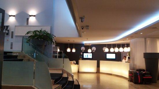 Novotel Geneve Centre : Reception
