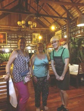 Don Khone, Laos: The Garden Restaurant