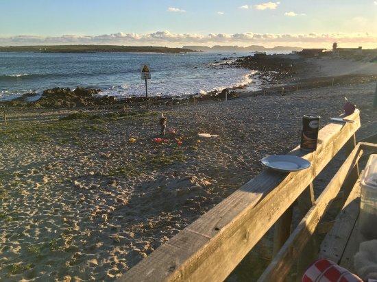 Punta Choros, Chile: desde la terraza delantera de la cabaña 1