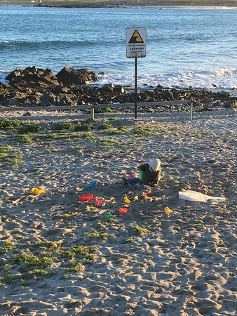 Punta Choros, Chile: desde terraza de la cabaña 1