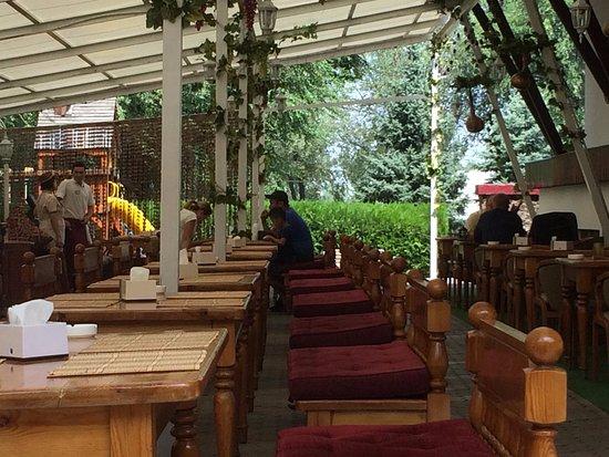 Tyubeteika : la terrasse