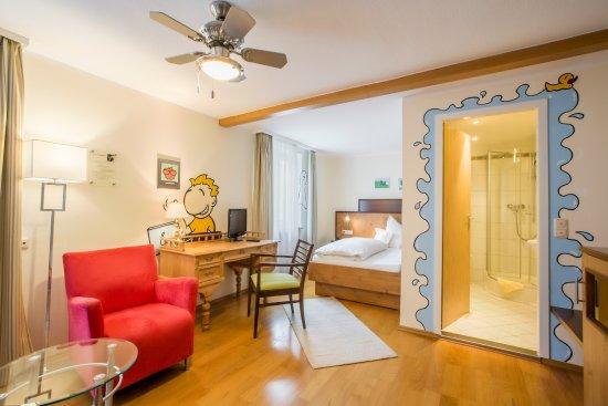Dieses einzelzimmer der superior klasse bietet for Design hotel pfalz