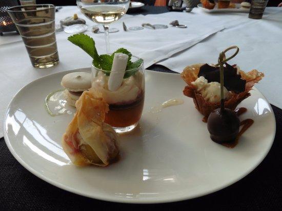 Blegny, Belçika: Dessert