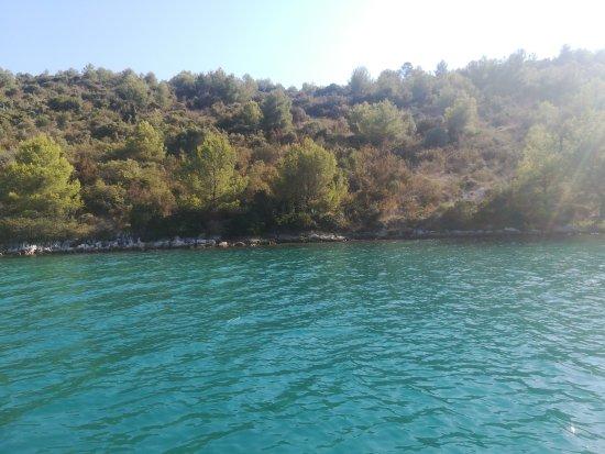 Sali, Kroatien: Taxi Frka