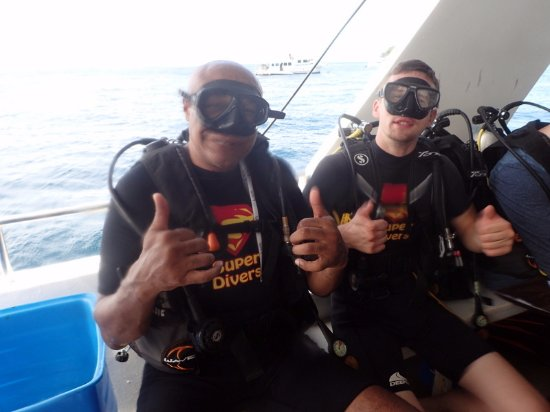 Super Divers: me and my bro!!