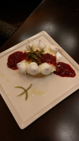 Harbourstone Sea Grill & Pour House: Passion Fruit Tart