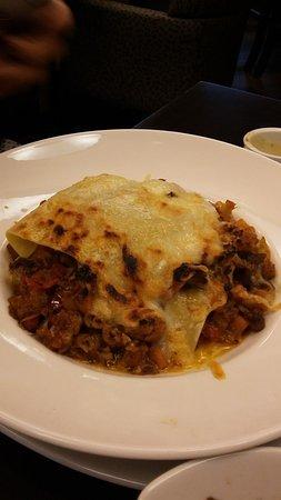 Harbourstone Sea Grill & Pour House: Vegetable Lasagna