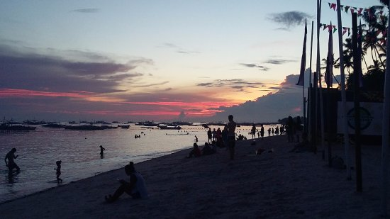 Panglao Island, ฟิลิปปินส์: Marina or beach?